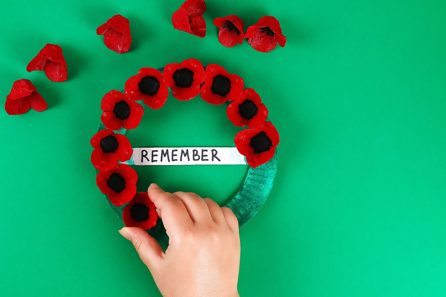 anzac poppy wreath
